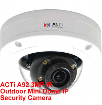 ACTi A92 3MP IR Outdoor Mini Dome IP Security Camera