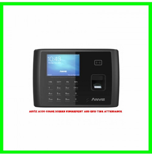 Anviz A350 Color Screen Fingerprint and RFID Time Attendance