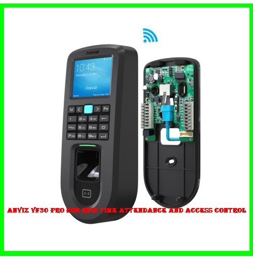 Anviz VF30 Pro POE RFID Time Attendance and Access Control