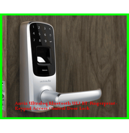Anviz Ultraloq Bluetooth UL3 BT-Fingerprint-Keypad Access Control Door Lock