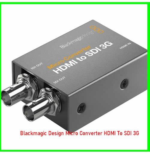 Blackmagic Design Micro Converter HDMI To SDI 3G-08030739425