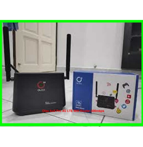 Olax Ax5 Pro 4G LTE Wifi Router-300mbps