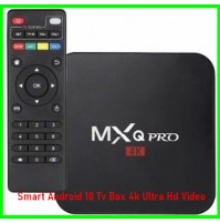 Smart Android 10 Tv Box 4k Ultra Hd Video