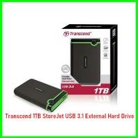 Transcend 1TB StoreJet USB 3.1 External Hard Drive