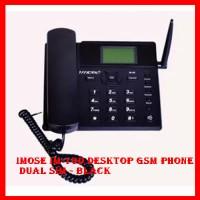 Imose IM-10D Desktop GSM Phone Dual SIM - Black