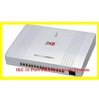 IKE 16 Port PBX-Intercom System