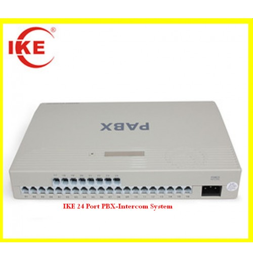 IKE 24 Port PBX-Intercom System