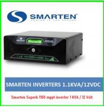 Smarten Superb 1100 mppt inverter 1 KVA / 12 Volt