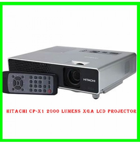 Hitachi CP-X1 2000 Lumens XGA LCD Projector