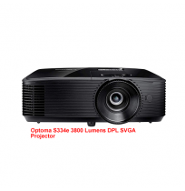 Optoma S334e 3800 Lumens DPL SVGA Projector