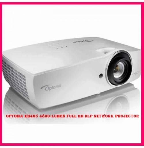 Optoma EH465 4800-Lumen Full HD DLP Network Projector