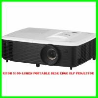 Ricoh 3100-Lumen Portable Desk Edge DLP Projector