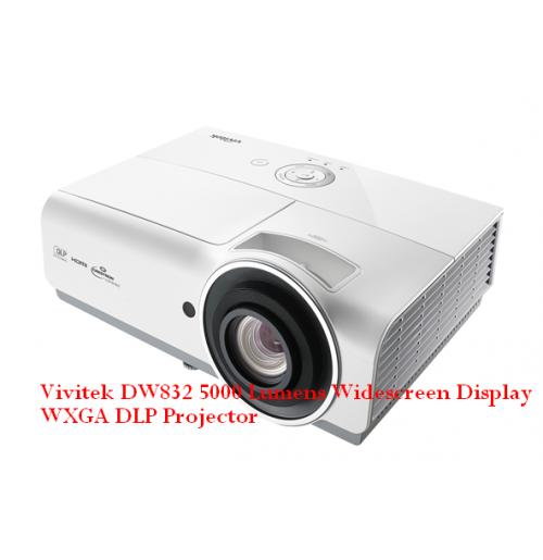 Vivitek DW832 5000 Lumens Widescreen Display WXGA DLP Projector