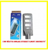 120 Watts Solar Street Light Security