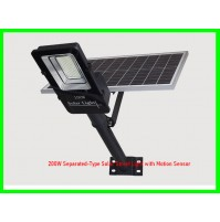 200W Separated-Type Solar Street Light with Motion Sensor