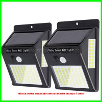 Waterproof Solar Motion detection security light