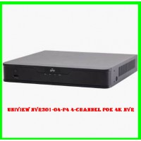 Uniview NVR301-04-P4 4-channel PoE 4K NVR