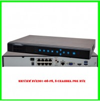 Uniview NVR301-08-P8, 8 channel PoE NVR