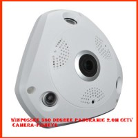 Winpossee 360 Degree Panoramic 2MP CCTV Camera-Fisheye