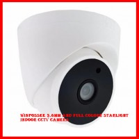Winpossee 3.6mm AHD Full Colour Starlight Indoor CCTV Camera