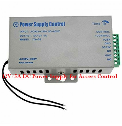 Buy 12V/5A DC Power Supply for Access Control-Computer