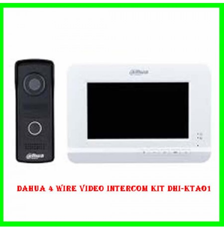 DaHua 4 Wire Video Intercom Kit DHI-KTA01