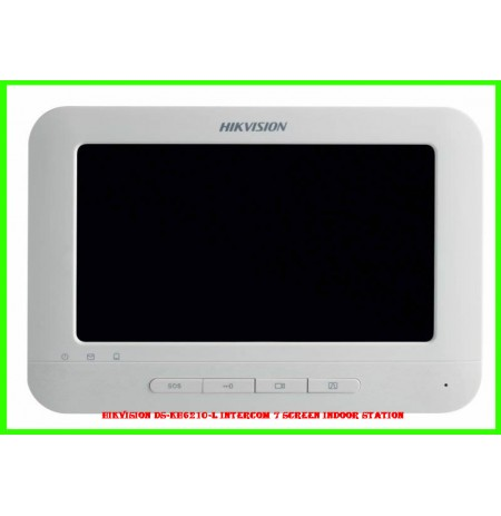 Hikvision DS-KH6210-L Intercom 7 Screen Indoor Station