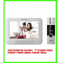"Hikvision DS-KIS201  7"" Hands Free Color Video Door Phone Bell"