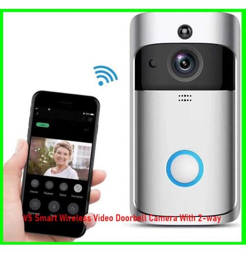 V5 WIFI Smart Phone Video Doorbell Intercom Camera