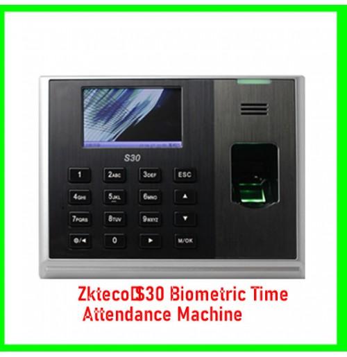 Zkteco S30 Biometric Time Attendance Machine