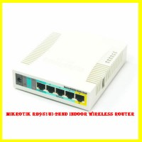 MikroTik RB951Ui-2HnD Indoor Wireless Router