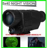 5X40 Digital IR Night Vision Monocular