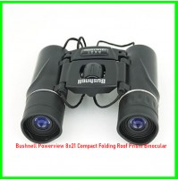 Bushnell Powerview 8x21 Compact Folding Roof Prism Binocular