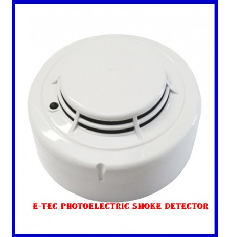 E-tec Photoelectric Smoke Detector