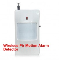 Wireless Pir Motion Alarm Detector