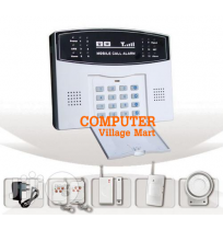 Home Security GSM Burglar Alarm System