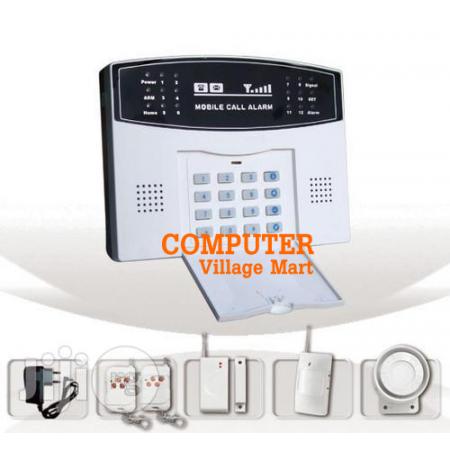 Home Security GSM Burglar Alarm System
