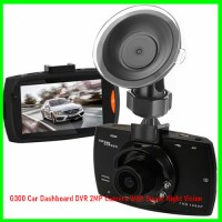 G300 Car Dashboard DVR 2MP Camera With Super Night Vision
