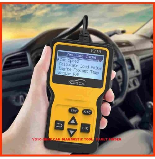 V310 OBD2 CAR Diagnostic Tool/ Fault Finder