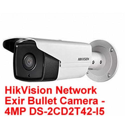 HikVision Network Exir Bullet Camera - 4MP DS-2CD2T42-I5