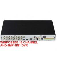 WINPOSSEE 16 CHANNEL AHD 4MP 5IN1 DVR