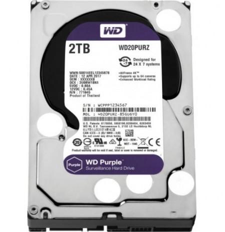 WD Purple 2TB Surveillance Hard Disk Drive 3.5 Sata