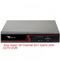 Elco Vision 24 Channel 5in1 hybrid AHD CCTV DVR