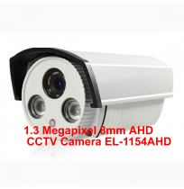1.3 Megapixel 8mm AHD CCTV Camera EL-1154AHD