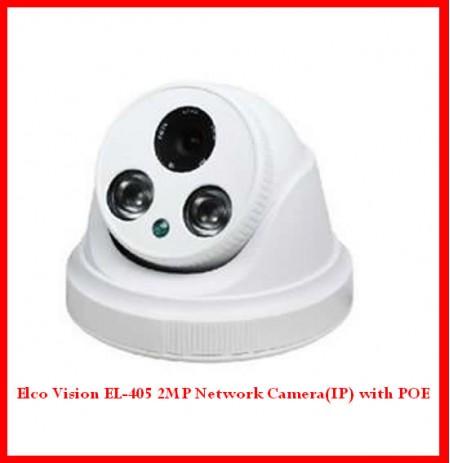 Elco Vision EL-405 2MP Network Camera(IP) with POE