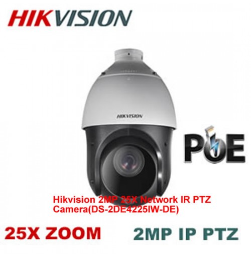 Hikvision 2MP 25X Network IR PTZ Camera-DS-2DE4225IW-DE