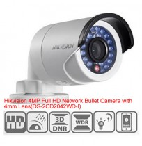 Hikvision 4MP Full HD Network Bullet Camera-DS-2CD2042WD-I