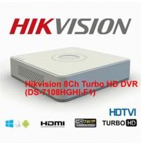 Hikvision 8Ch Turbo HD DVR-DS-7108HGHI-F1