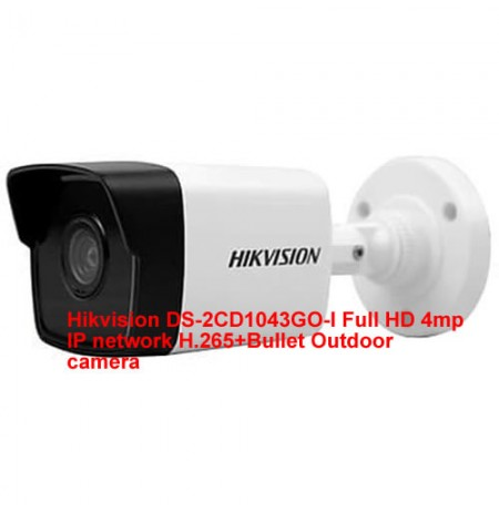 Hikvision DS-2CD1043GO-I HD 4MP network Bullet camera