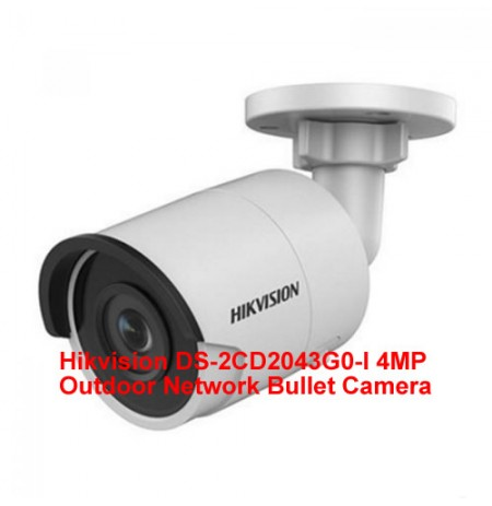 Hikvision DS-2CD2043G0-I 4MP Outdoor Network Bullet Camera